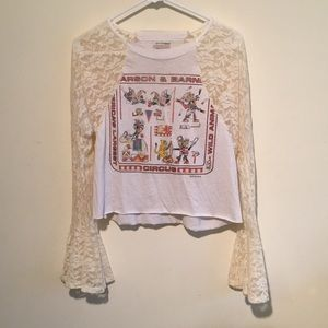 Furst of a Kind vintage bell sleeve top from LF